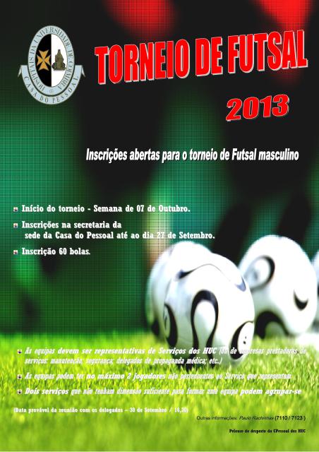 Torneio de Futsal 2013